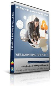web marketing for profit online business training