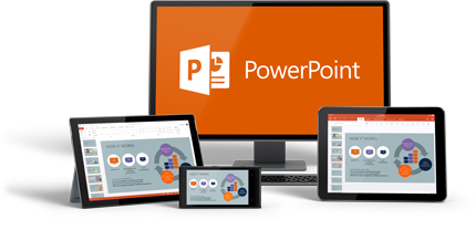 Powerpoint for business and traffic