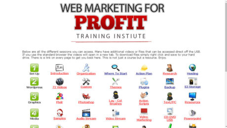 Web Marketing For Profit Grey Label